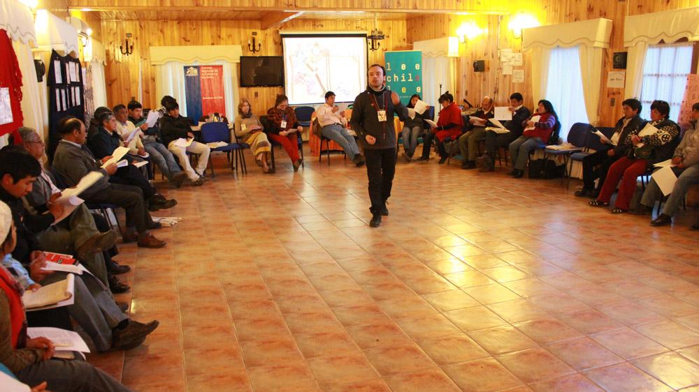 "Seminario: ""Leamos en Mapudungun"" – Cultura Mapuche (registro)"