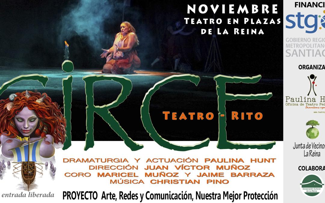 Teatro y Talleres en barrios comunales