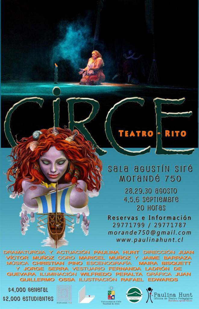 Temporada CIRCE en Teatro U.Chile