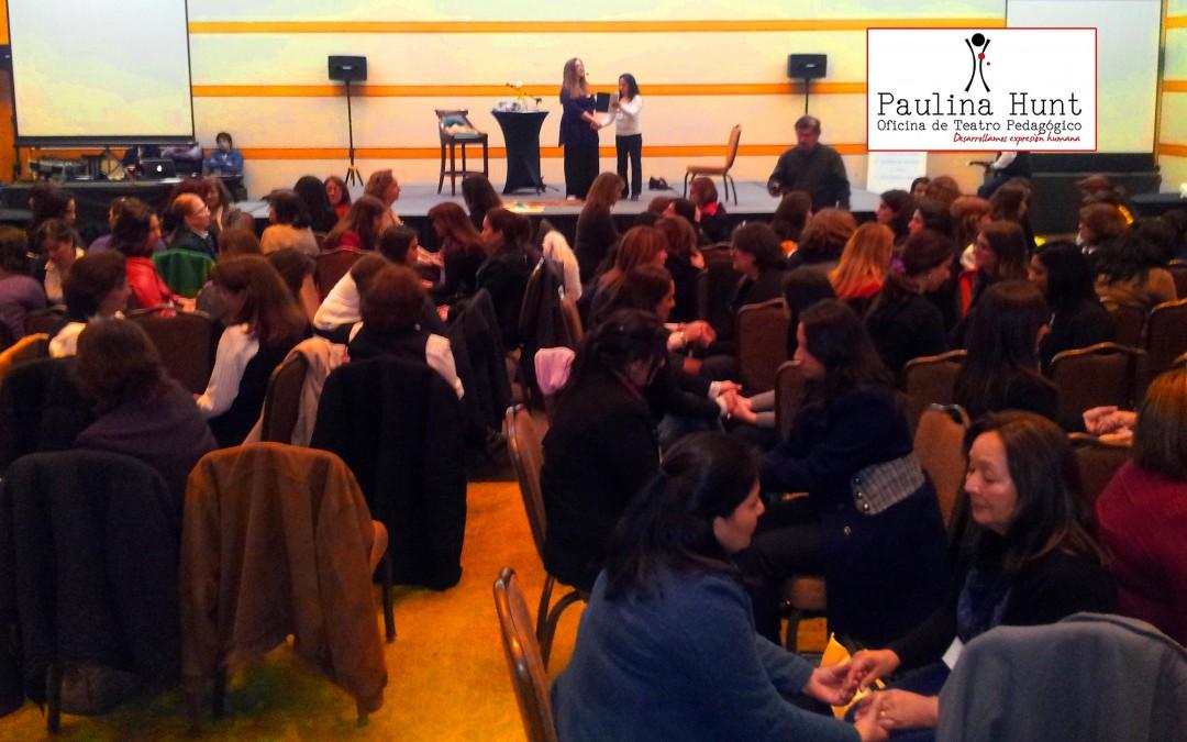 """Paulina Hunt en Conferencia Actuada: """"Bases de una Pedagogía de la Expresión"""""""