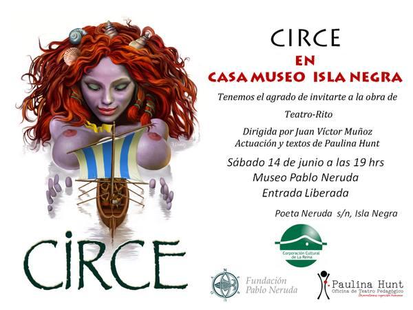 CIRCE en Casa-Museo Pablo Neruda en Isla Negra