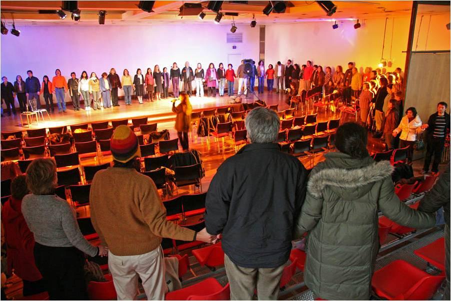 Experiencia Poética-Teatral de Reconciliación, 16º Aniversario FLR