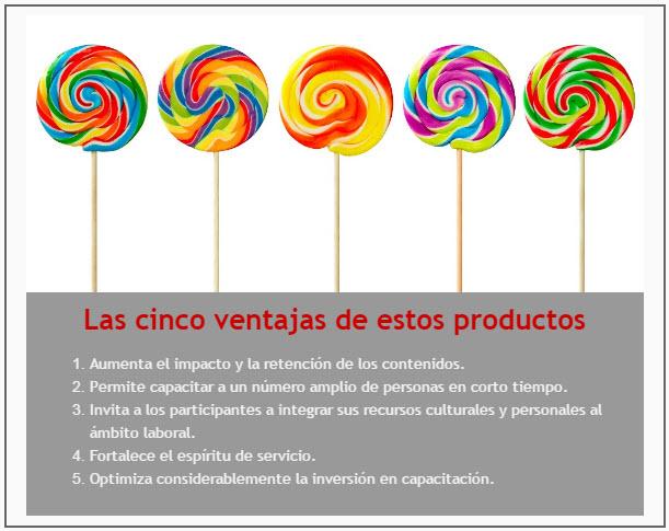 Las 5 grandes ventajas para adquirir nuestros productos